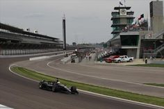 Indianapolis Motor Speedway, with Oriol Servia.