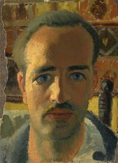 Paul-Émile Borduas – Self Portrait, ca 1928 - Musée des beaux-arts du Canada Beauty In Art, Male Beauty, Inuit Art, Virtual Museum, Yellow Art, Art Graphique, Canadian Artists, Portrait Photo, Oeuvre D'art