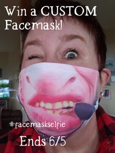 Covid19 safety #Giveaway!! #Win a custom designed mask!! @usamaskmarket So FUNNY! So MANY choices!! #facemaskselfie  Ends 6/5 Big Sunglasses, All We Know, Instagram Giveaway, Out Of My Mind, Famous Movies, Sweater Fashion, Ugly Christmas Sweater, Check It Out, Giveaways