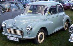 Morris 1000 My grandad had one this colour