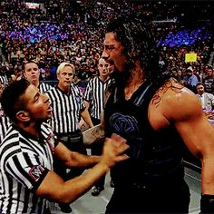 Angry Roman Reigns is Sexy Roman Reigns!
