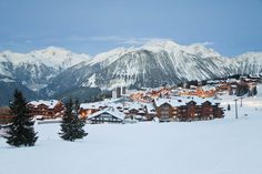 Courchevel 1850 ski resort in the Three Valleys (Les Trois Vallees), Savoie, French Alps, France, Europe