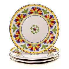Amalfi Ceramic Dinner Plate (Set of 4)