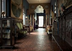 The Long Gallery has a French Gothic example of stained glass.  Isabella Stewart Gardner Museum : Browse