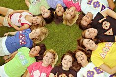 """the sisterhood of DPhiE ~  Delta Phi Epsilon has three goals:Dedication,Pride, andExcellence. Through the sisterhood, we strive to be at our very best and help each other get there along the way. Our principles are justice, sisterhood, and love. Through sisterhood and love, we practice justice to each other. Delta Phi Epsilon lives by our motto: """"esse quam videri"""" which means """"to be, rather than to seem to be.""""   The sisters of Delta Phi Epsilon embrace this motto a"""