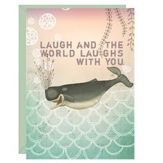 Humor & whales- 2 of my allies in combatting mindfulness