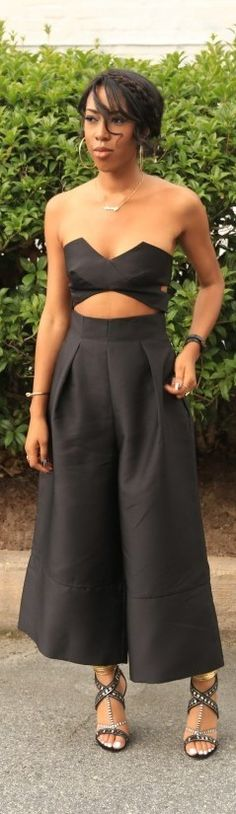 Crazy For Culottes / Fashion By Life In Beverly Heels
