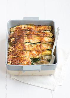 Mmm ik maakte en vegetarische lasagne met heel veel groente en bechamelsaus.