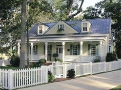 Colonial Cottage Country Craftsman Farmhouse Southern Traditional House Plan 86156 - I would change the columns to craftsman style with stone Colonial Cottage, Cottage House Plans, Country House Plans, Cottage Homes, Southern Cottage, Southern Style, Country Homes, Southern Home Plans, Old Country Houses