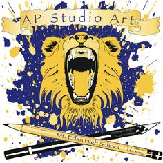 ap art stuff  *my high school, wth...They never even had advanced art when I was there... good to see.  Had to go to Chabot!  :)