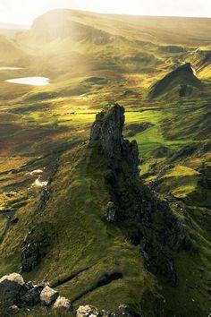 The Quiraing, Skye, Scotland #photography #beautifulplace #travelingamerica