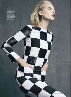 le grand cirque: valeria demitrienko by tesh for us marie claire march
