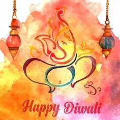 Watercolor diwali background PNG and Vector Happy Diwali Wallpapers, Happy Diwali Images, Diwali Greetings, Diwali Wishes, Diwali Cards Designs, Handmade Diwali Greeting Cards, Diwali Painting, Diwali Inspiration, Diwali Vector
