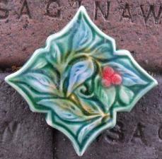 Hand carved art tiles and vessels. Craftsman Tile, Art Nouveau, Art Deco, Art Tiles, Vintage Tile, House With Porch, Decorative Tile, Quatrefoil, Bath Decor