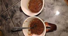 Mennyei Bögrés süti 3 összetevőből recept! Kipróbáltam és nagyon finom. El lehetne tartani vele :) Chocolate Fondue, Nutella, Pudding, Keto, Desserts, Food, Tailgate Desserts, Deserts, Essen