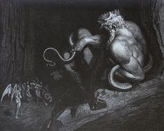 Gustave Doré | Minos