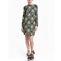 H&M Pattern Dress - Size 4