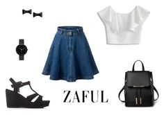 """""""http://www.zaful.com/?lkid=5197- 86"""" by christine-792 ❤ liked on Polyvore featuring Chicwish, I Love Ugly and Marc by Marc Jacobs"""