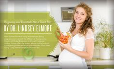 Pregnancy and Essential Oils: a Guest Post by Dr. Lindsey Elmore