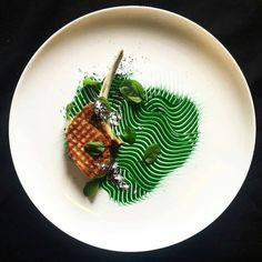 """Pork chop sorrel"" By @food_by_sean"