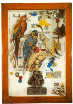 Joseph Cornell  (1903-72). American sculptor, one of the pioneers and most celebrated exponents of assemblage.