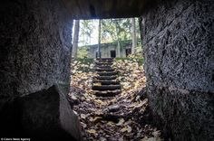 Entrance: There were seven underground complexes situated around the Sowie Mountains including: Wlodarz, Osowka, Sokolec, Sobon, Rzeczka, Jugowice and Hitler's tunnel complex under the castle of Ksiaz in Walbrzych