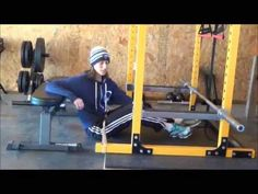 Hip Thrust with Resistance Band - YouTube