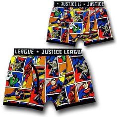MEN/'S 2PK JUSTICE LEAGUE BOXER BRIEFS; SIZE SMALL MULTICOLOR NWT