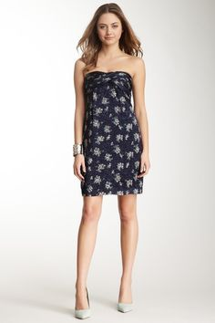 Strapless Print Dress by See by Chloe on @HauteLook