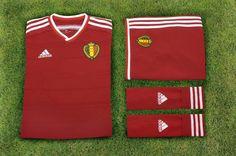 Belgium 2014 adidas Home