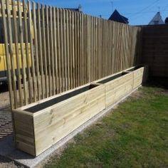 Backyard Privacy, Backyard Patio, Backyard Landscaping, Fence Design, Patio Design, Garden Design, Back Gardens, Outdoor Gardens, Outdoor Spaces