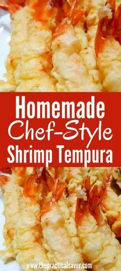 homemade shrimp tempura batter  traditional japanese food recipes l best food recipes ever ideas l easy healthy food recipes on a budget l grocery on a budget l healthy budget meals for a large families