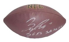 "Bryce Petty Autographed NFL Wilson Composite Football w/ Inscription, Proof Photo. Bryce Petty Signed NFL Football Featuring ""J.E.T.S. Jets! Jets! Jets!"" Inscription! New York Jets, Proof  This is a brand-new Bryce Petty autographed NFL Wilson composite football featuring ""J.E.T.S. Jets! Jets! Jets!"" inscription!  Bryce signed the football in silver paint pen. Check out the photo of Bryce signing for us. ** Proof photo is included for free with purchase. Please click on images to enlarge…"