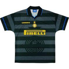 1e79ff52290 Inter Milan Football club Nike Third 1997  10 RONALDO  14 Simeone- UEFA CUP  FINAL FÚTBOL SOCCER KIT CALCIO SHIRT JERSEY FUSSBALL CAMISA TRIKOT MAILLOT  ...