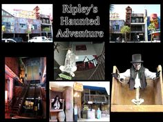 Ripley's Haunted Adventure, Moving Theater and Believe it or Not Museum in San Antonio, Tx