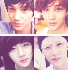 Kai <3 Sehun <3 Pre-debut & Now ^_^