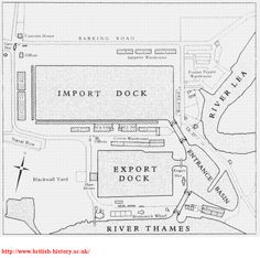 East India Docks | London Diary (Bradshaws Hand Book) London Diary, Customs House, River Thames, British History, India, In This Moment, Book, Travel, Goa India