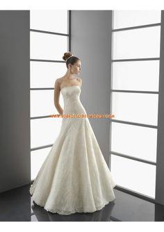 Robe de mariée 2013 dentelle avec bustier