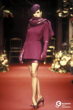 7 Encrine Christian Dior, Autumn-Winter 1994, Couture   Christian Dior  Christian Dior, Autumn-Winter 1994, Couture   Christian Dior