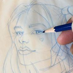 regram @jessito555 Quick Quinn #harleyquinn #suicidesquad #margotrobbie #movie #superhero #villains #batman #DCcomics #comics #sketch #drawing #prismacolor #coloredpencils #worldofpencils #artbyjesseh