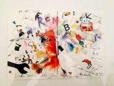 Jean Tinguely 1979 Letter Drawings