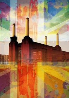 'Splattersea' - Battersea Power Station by Czar Catstick