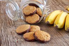 Banana Cinnamon Cookies (paleo, gluten, grain, dairy free) by LivingHealthyWithChocolate.com
