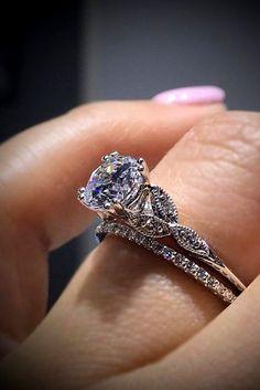 Idée et inspiration Bague De Fiançailles :   Image   Description   30 Fabulous Wedding Rings That All Women Adore ❤ See more: www.weddingforwar… #wedding