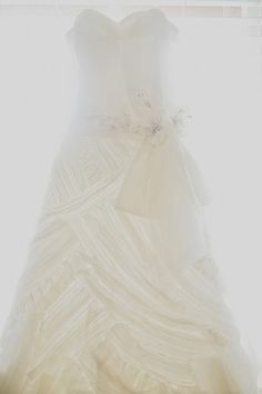 Elegant Lazaro Gown