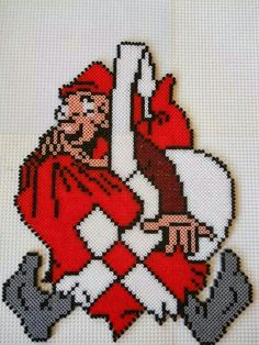 Billedresultat for hama projets Hama Beads Design, Hama Beads Patterns, Beading Patterns, Christmas Perler Beads, 3d Christmas, Christmas Decorations, Beaded Cross Stitch, Cross Stitch Patterns, Diy And Crafts