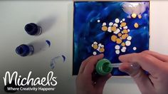 Mixed Media Amoeba | Crafting Quick Tips | Michaels