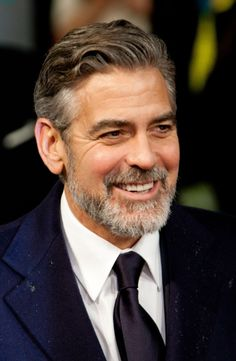 George Clooney... Even with a beard!