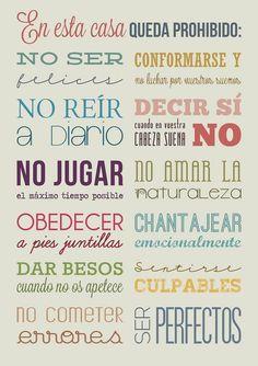 Las reglas de la vida