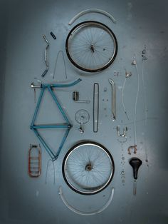 SUBMISSION: Bicycle Dismantled for Redesign
